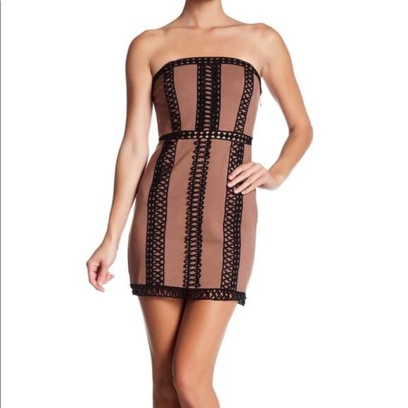 0ae90ab58b33 Free People Dresses | Nwt City Lights Tube Mini Dress | Poshmark